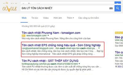 Đã SEO top từ DAILYTONCACHNHIET tại khóa đào tạo SEO của Linh Nguyễn