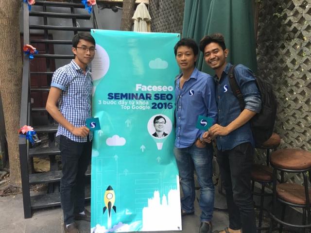 Đào tạo SEO tại Bắc Giang chất lượng, chuẩn Google, lên TOP bền vững không bị Google phạt, dạy bởi Linh Nguyễn CEO Faceseo. LH khóa đào tạo SEO mới 0932523569.