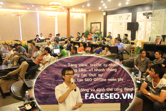 Đào tạo SEO tại TP HCM chất lượng, chuẩn Google, lên TOP bền vững không bị Google phạt, dạy bởi Linh Nguyễn CEO Faceseo. LH khóa đào tạo SEO mới 0932523569.